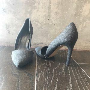 Banana Republic Wool Grey Heels